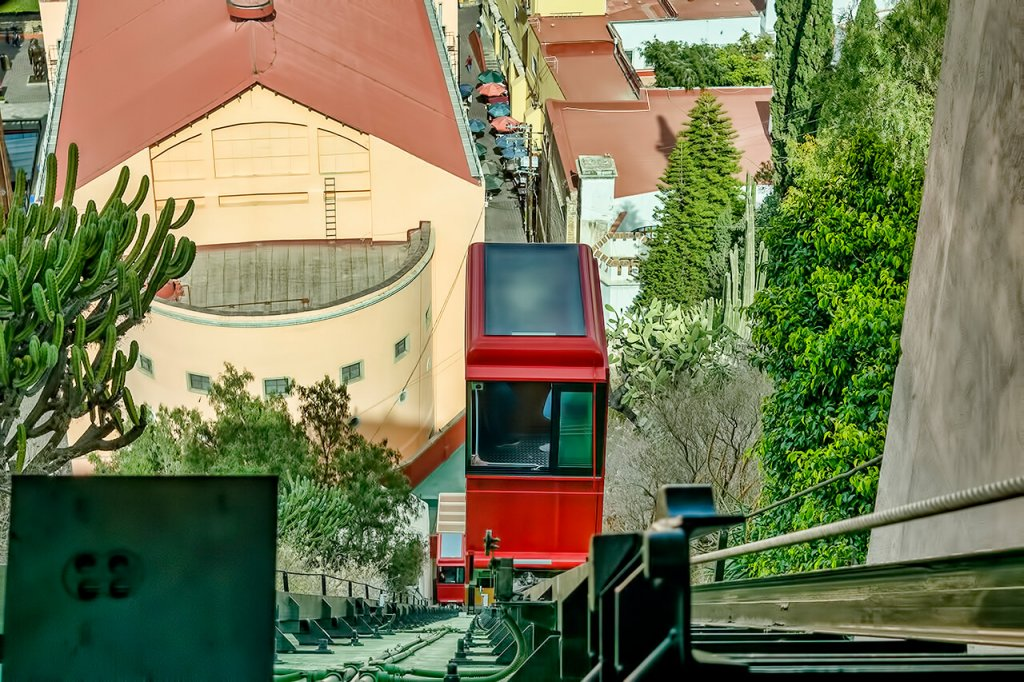 The finicular- the best views of Guanajuato
