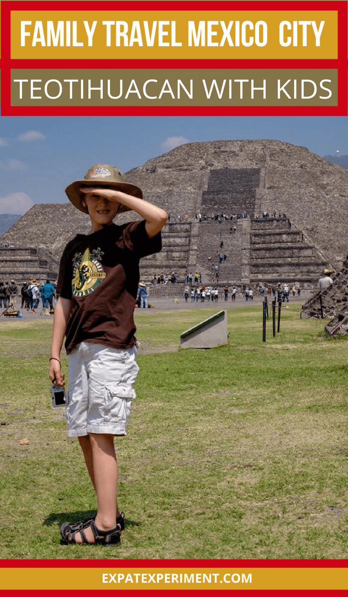 We can honestly say taking a day trip to visit the Teotihuacan Pyramids, about 50 minutes outside of Mexico City was the most incredible experience we had during our entire trip. An unforgettable family memory, a trip to Teotihuacan with kids is an absolute must if you're visiting Mexico City.