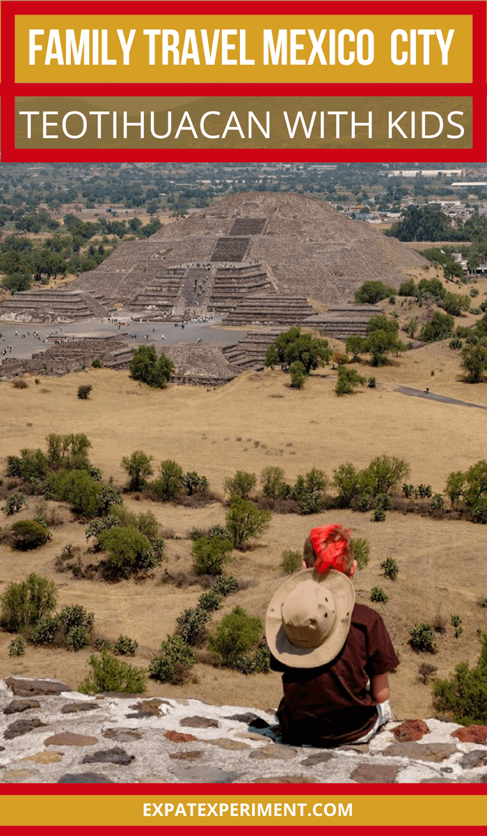 We can honestly say taking a day trip to visit the Teotihuacan Pyramids, about 50 minutes outside of Mexico City was the most incredible experience we had during our entire trip. An unforgettablefamily memory, a trip to Teotihuacan with kids is an absolute must if you're visiting Mexico City.