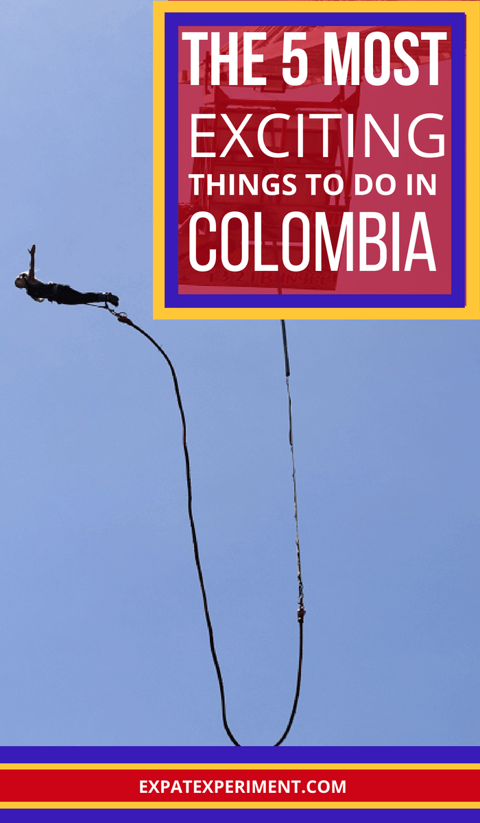 Looking for exciting things to do in Colombia? This article has 5 of the best suggestions to add to your itinerary!
