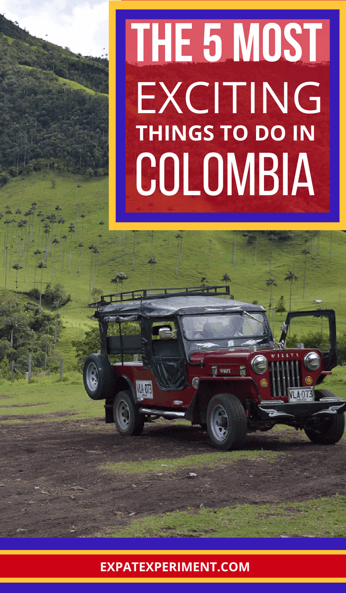 Are you a thrill seeker planning to visit Colombia? Here are 5 of the most exciting things to do in Colombia to make your trip planning a little easier!