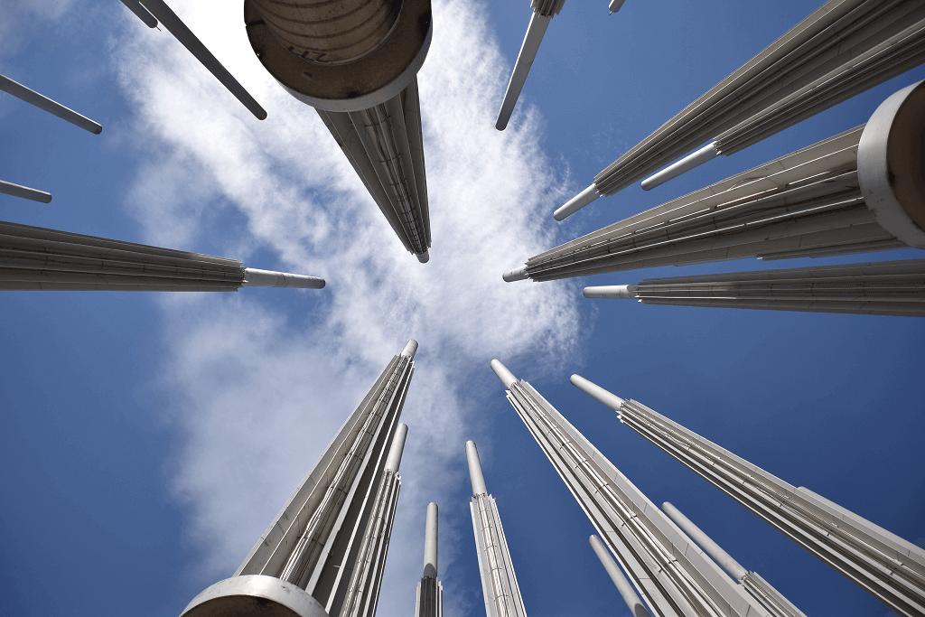 Medellin light towers