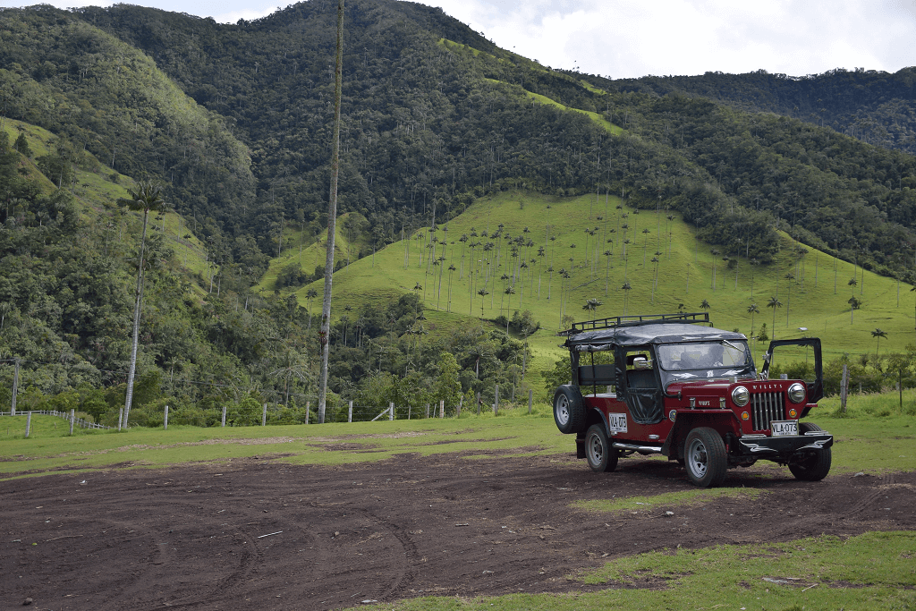 Jeep to Valle de Cocora