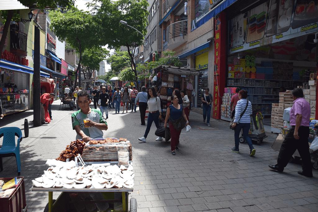 Medellin city center
